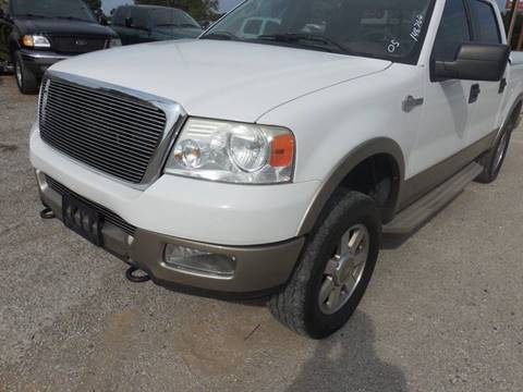 2005 Ford F-150 for sale at OTTO'S AUTO SALES in Gainesville TX
