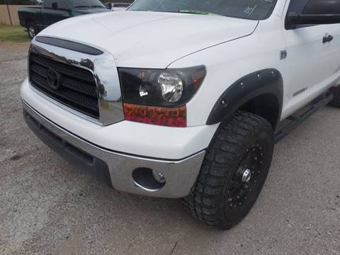 2008 Toyota Tundra for sale at OTTO'S AUTO SALES in Gainesville TX