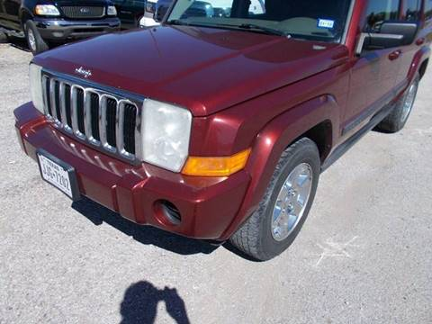 2007 Jeep Commander for sale at OTTO'S AUTO SALES in Gainesville TX