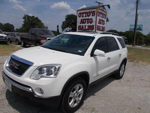 2007 GMC Acadia for sale in Gainesville, TX
