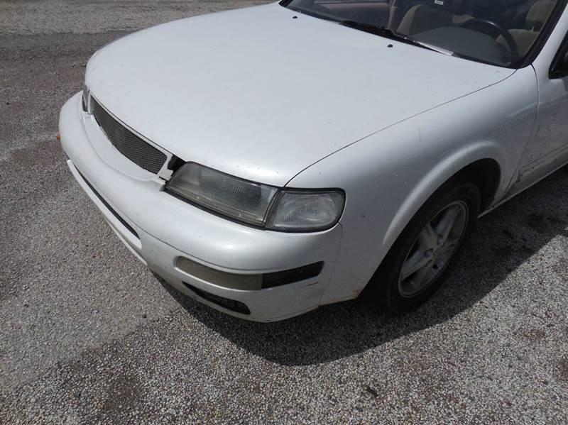 1998 Nissan Maxima for sale at OTTO'S AUTO SALES in Gainesville TX