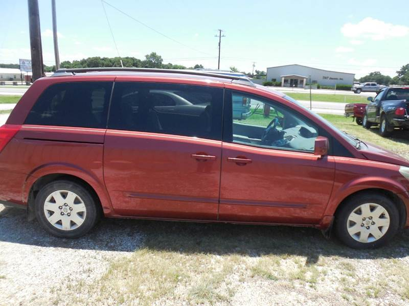 2004 Nissan Quest for sale at OTTO'S AUTO SALES in Gainesville TX