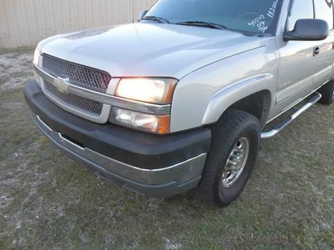 2004 Chevrolet Silverado 2500HD for sale at OTTO'S AUTO SALES in Gainesville TX
