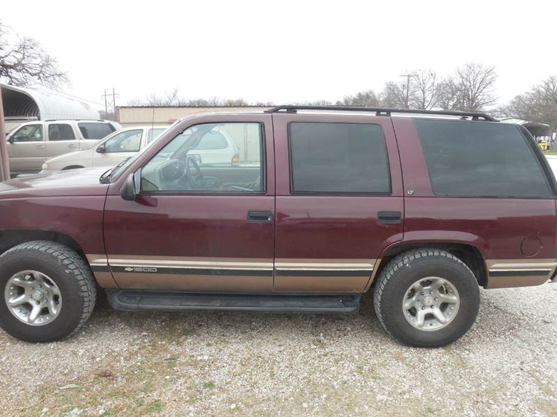 1995 Chevrolet Tahoe for sale at OTTO'S AUTO SALES in Gainesville TX
