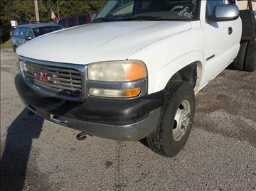 2001 GMC Sierra 3500 for sale at OTTO'S AUTO SALES in Gainesville TX