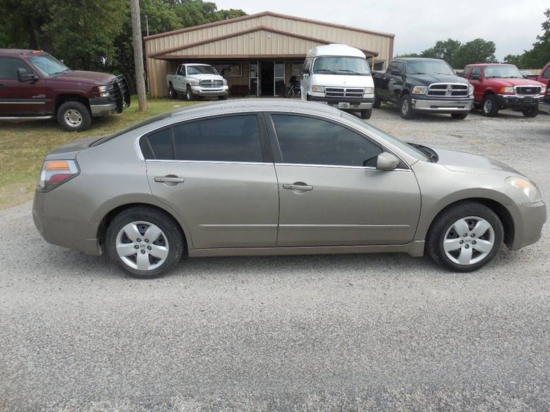 2007 Nissan Altima for sale at OTTO'S AUTO SALES in Gainesville TX