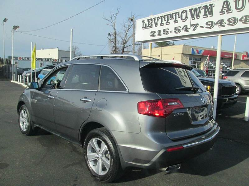 2011 Acura MDX SH AWD w/Tech w/RES 4dr SUV w/Technology and Entertainment Package - Levittown PA