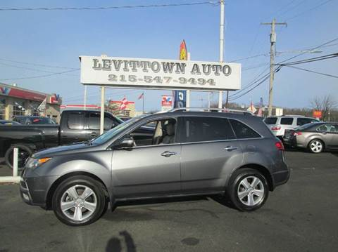 2011 Acura MDX for sale at Levittown Auto in Levittown PA