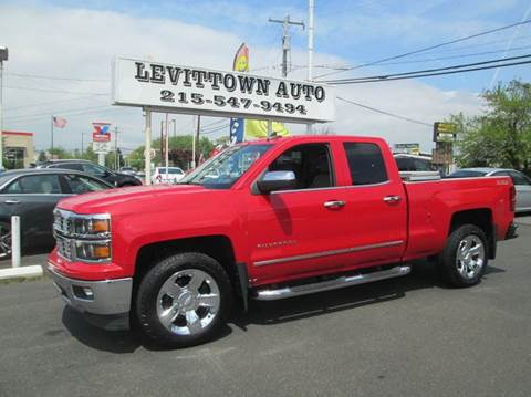 2015 Chevrolet Silverado 1500 for sale at Levittown Auto in Levittown PA