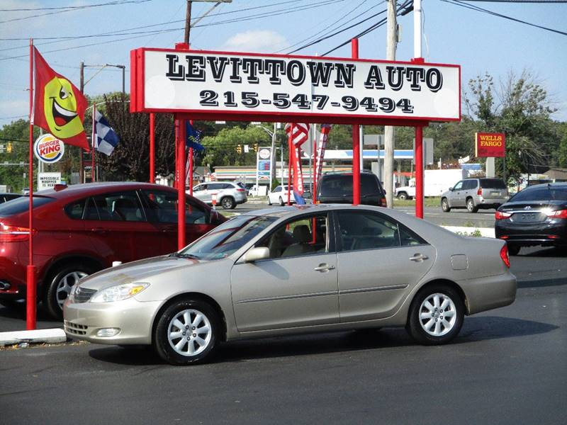 2003 toyota camry xle 4dr sedan in levittown pa levittown auto 2003 toyota camry xle 4dr sedan in