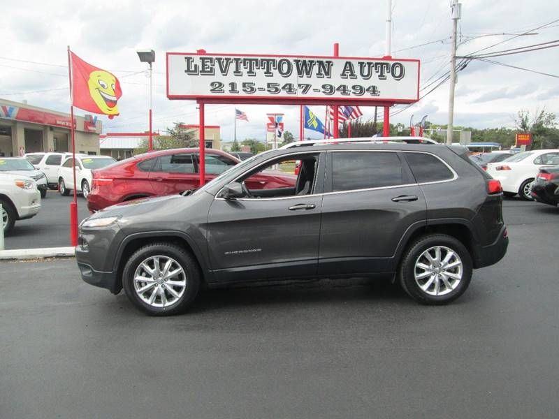 2015 Jeep Cherokee 4x4 Limited 4dr SUV - Levittown PA