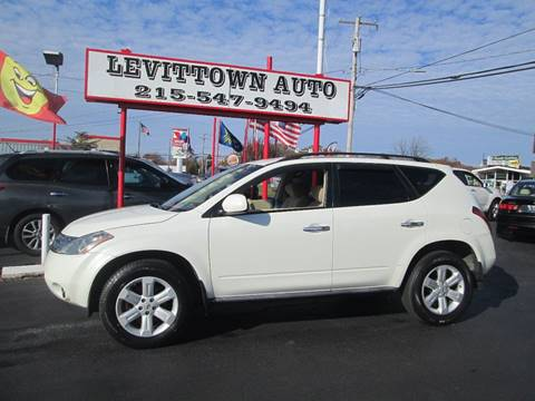 2007 Nissan Murano for sale in Levittown, PA