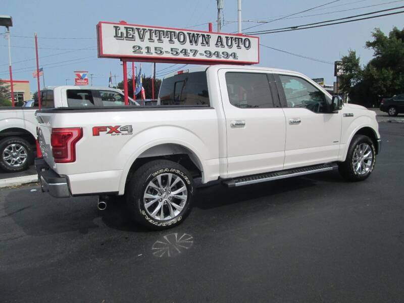 2017 Ford F-150 4x4 Lariat 4dr SuperCrew 5.5 ft. SB - Levittown PA