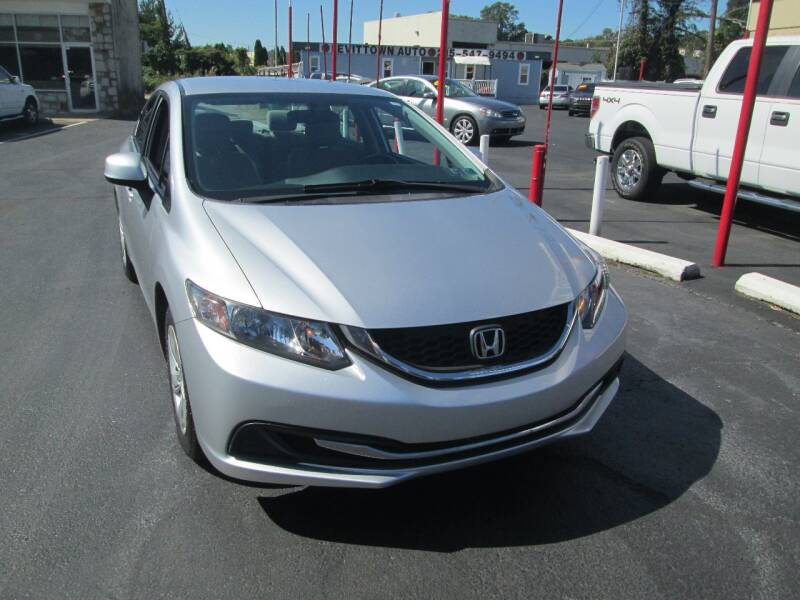 2013 Honda Civic LX 4dr Sedan 5A - Levittown PA