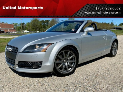 2010 Audi TT for sale at United Motorsports in Virginia Beach VA