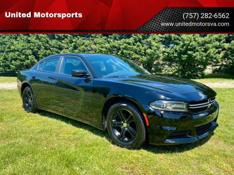 2015 Dodge Charger for sale at United Motorsports in Virginia Beach VA