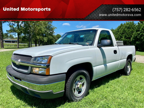 2004 Chevrolet Silverado 1500 for sale at United Motorsports in Virginia Beach VA