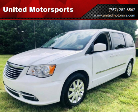 2014 Chrysler Town and Country for sale at United Motorsports in Virginia Beach VA