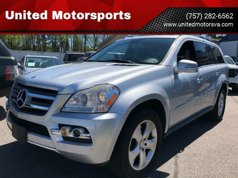 2011 Mercedes-Benz GL-Class for sale at United Motorsports in Virginia Beach VA