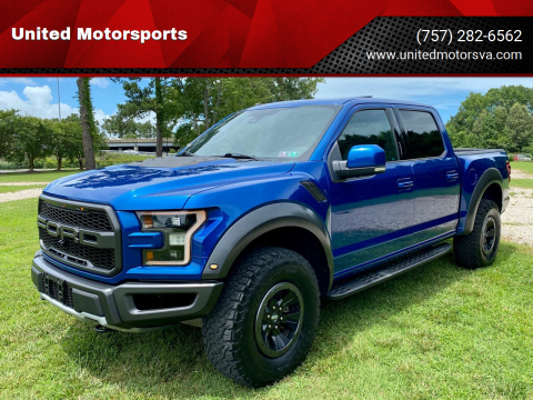 2017 Ford F-150 for sale at United Motorsports in Virginia Beach VA
