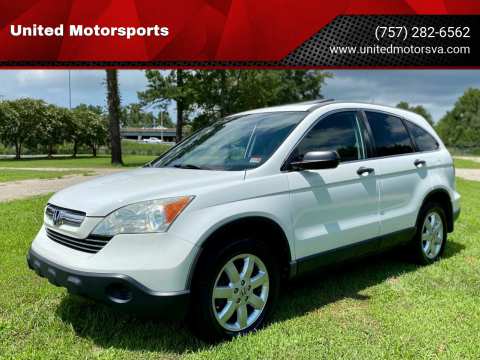 2009 Honda CR-V for sale at United Motorsports in Virginia Beach VA