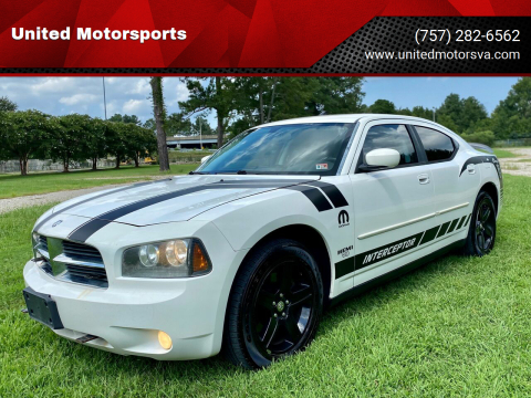 2009 Dodge Charger for sale at United Motorsports in Virginia Beach VA