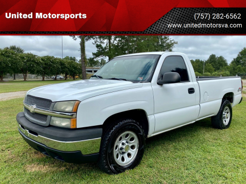 2005 Chevrolet Silverado 1500 for sale at United Motorsports in Virginia Beach VA