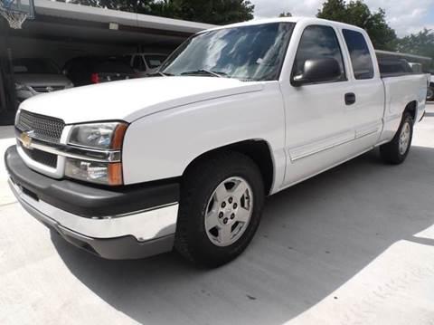 2005 Chevrolet Silverado 1500 for sale at Eagle Motors in Decatur TX