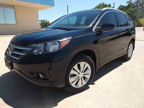 2013 Honda CR-V for sale at Eagle Motors in Decatur TX
