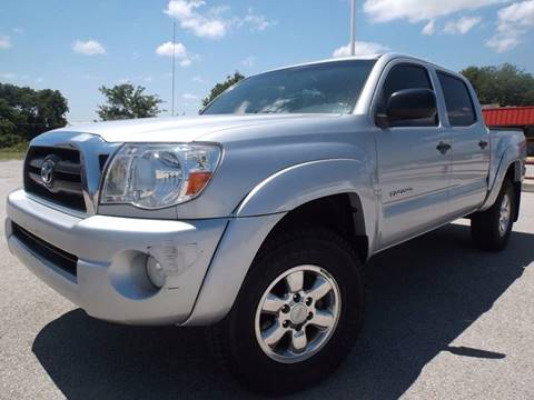 2006 Toyota Tacoma for sale at Eagle Motors in Decatur TX