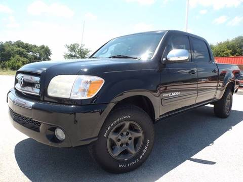 2005 Toyota Tundra for sale at Eagle Motors in Decatur TX
