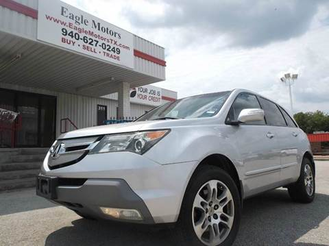2007 Acura MDX for sale at Eagle Motors in Decatur TX