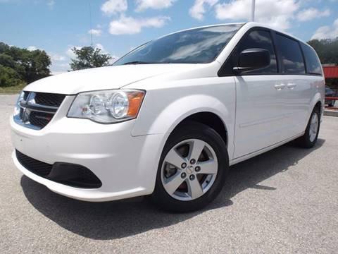 2013 Dodge Grand Caravan for sale at Eagle Motors in Decatur TX