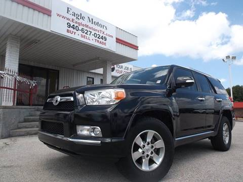 2011 Toyota 4Runner for sale at Eagle Motors in Decatur TX