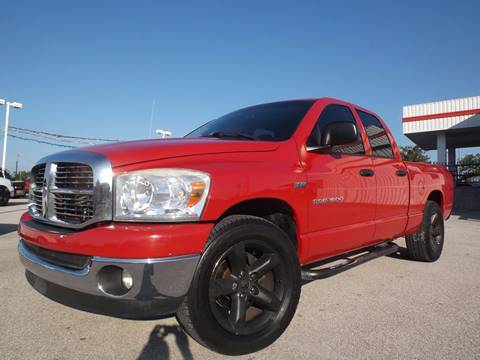 2007 Dodge Ram Pickup 1500 for sale at Eagle Motors in Decatur TX