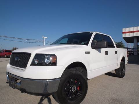 2006 Ford F-150 for sale at Eagle Motors in Decatur TX