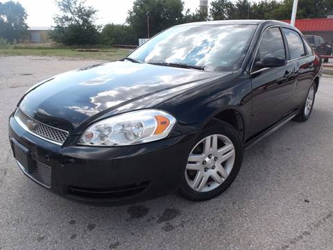 2012 Chevrolet Impala for sale at Eagle Motors in Decatur TX