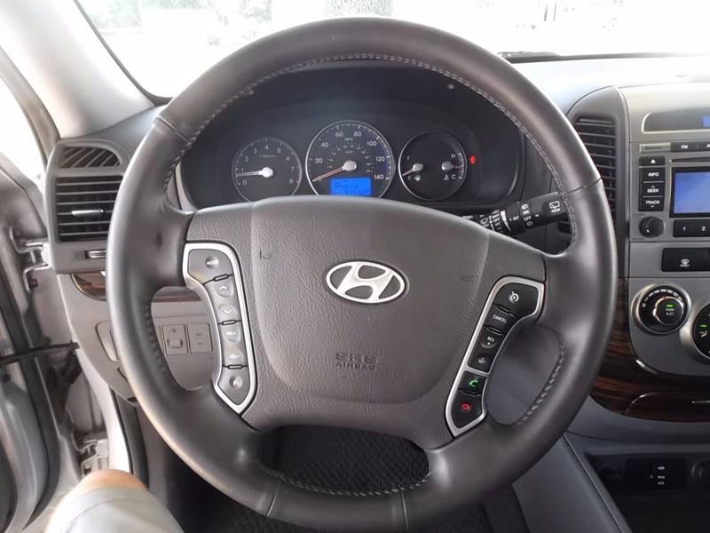 2010 Hyundai Santa Fe for sale at Eagle Motors in Decatur TX