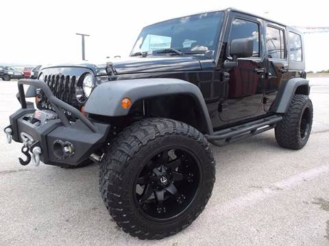 2012 Jeep Wrangler Unlimited for sale at Eagle Motors in Decatur TX