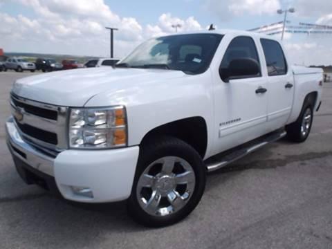 2011 Chevrolet Silverado 1500 for sale at Eagle Motors in Decatur TX