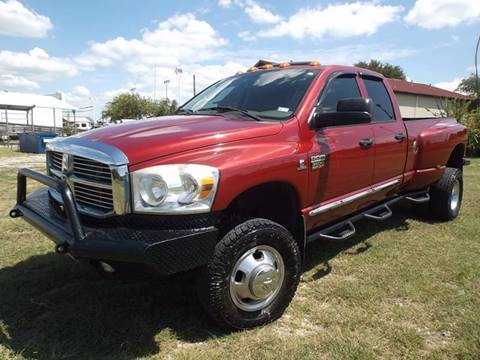 2007 Dodge Ram Pickup 3500 for sale at Eagle Motors in Decatur TX