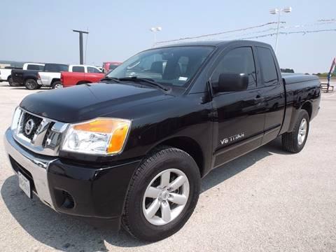 2010 Nissan Titan for sale at Eagle Motors in Decatur TX