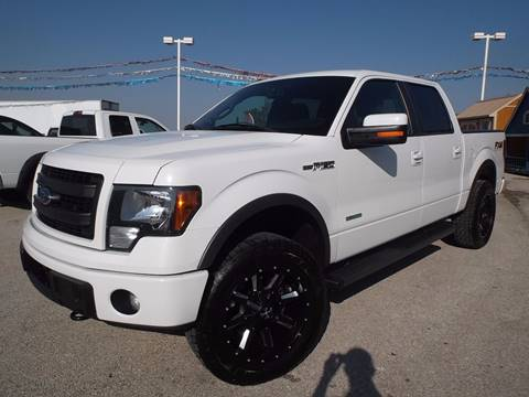 2013 Ford F-150 for sale at Eagle Motors in Decatur TX
