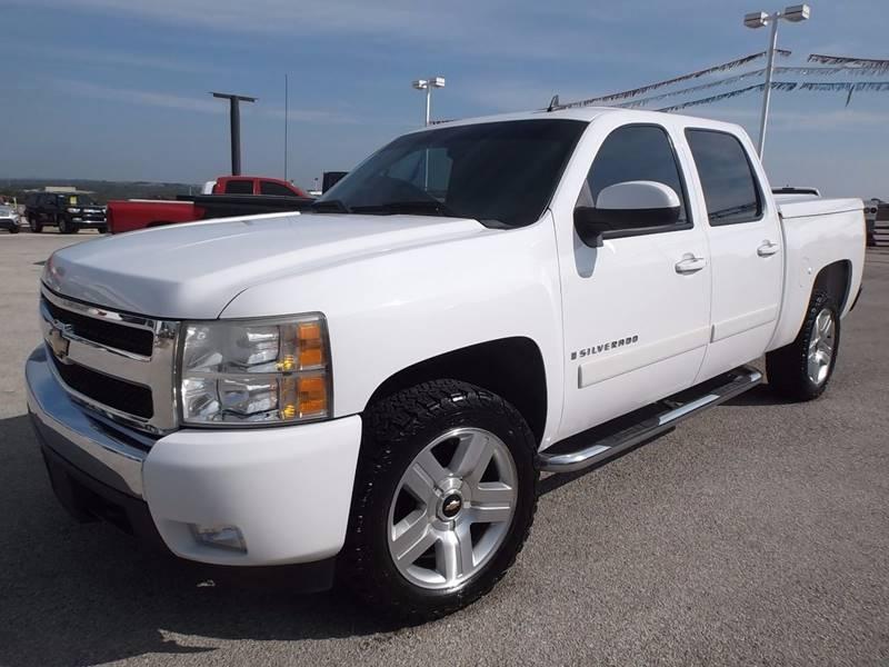 2008 Chevrolet Silverado 1500 for sale at Eagle Motors in Decatur TX