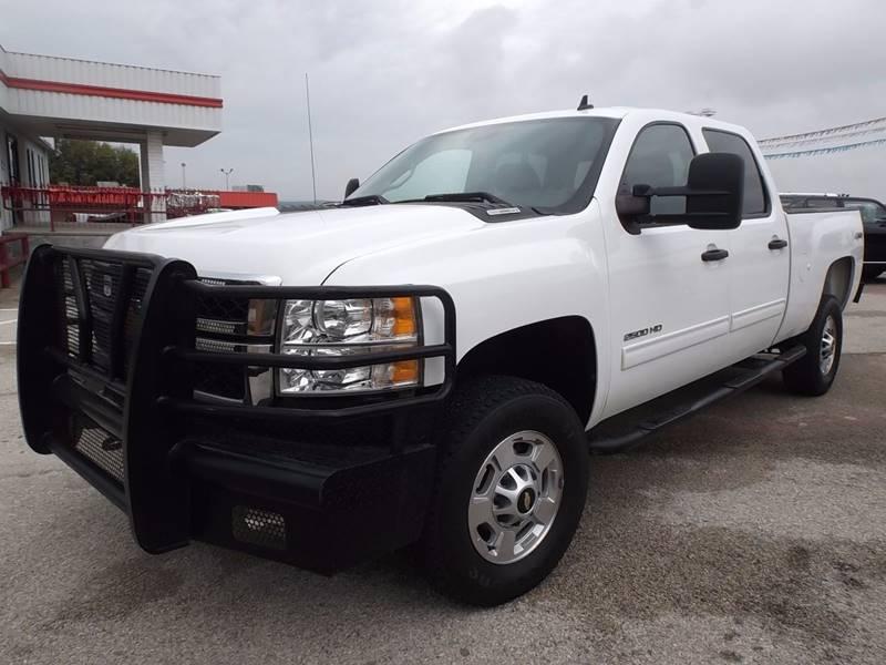 2012 Chevrolet Silverado 2500HD for sale at Eagle Motors in Decatur TX