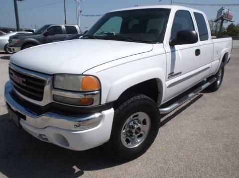 2005 GMC Sierra 2500HD for sale in Denton, TX