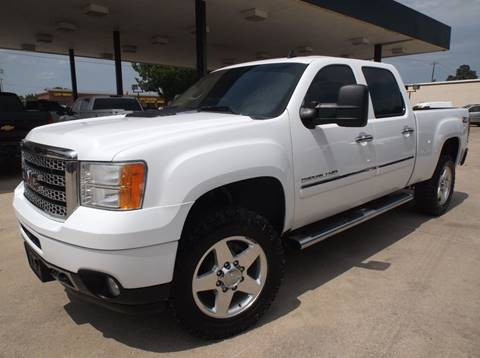 2013 GMC Sierra 2500HD for sale in Denton, TX