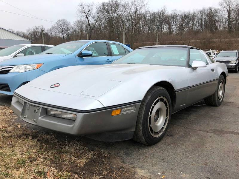 1984 chevrolet corvette 2dr hatchback in chillicothe oh instant auto sales. Black Bedroom Furniture Sets. Home Design Ideas
