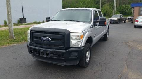 2012 ford f 250 super duty 4x4 xl 4dr crew cab 8 ft lb pickup in chillicothe oh instant auto. Black Bedroom Furniture Sets. Home Design Ideas