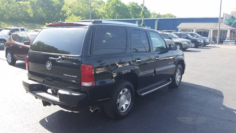2004 cadillac escalade awd 4dr suv in chillicothe oh instant auto sales. Black Bedroom Furniture Sets. Home Design Ideas